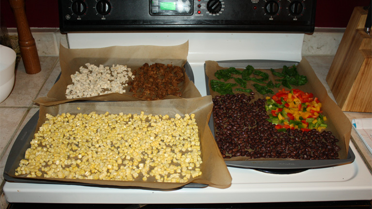 Dehydrated Food for Oven